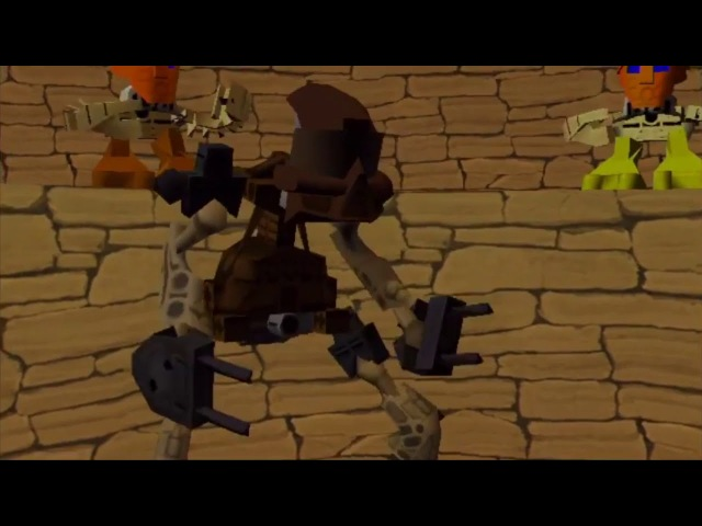 Bionicle The Legend of Mata Nui Pohatu performs Takara