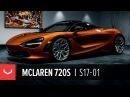 McLaren 720S Florida Citrus Vossen Forged S17-01 Rich B. Caliente