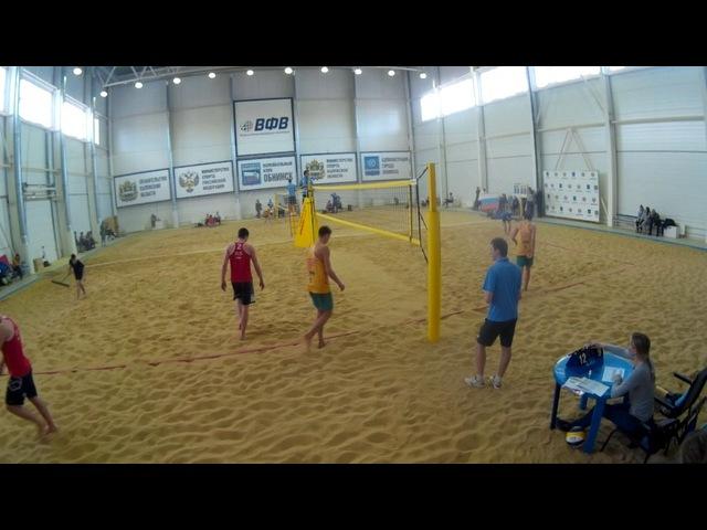 Beach volley Cup U20 Russia 2018 M10 Ivanov-Kuzmin and Shekunov-Veretyuk