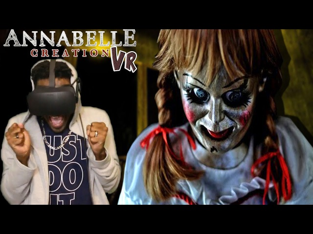 ANNABELLE IS A DEMON | Annabelle: Creation VR - Bee's Room Oculus Rift REACTION