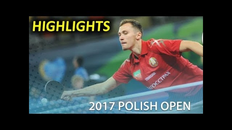 Best points 2017 ITTF Challenge Polish Open 4-8 Oct part 2