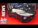 Lagonda Vision Concept launches Aston Martin's new eco brand at Geneva 2018