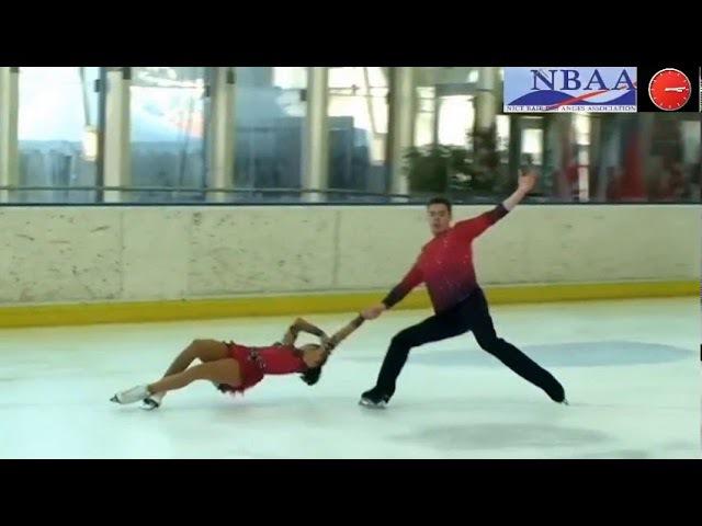 Богдана Лукашевич / Александр Степанов Cup of Nice 2017 Pairs SP