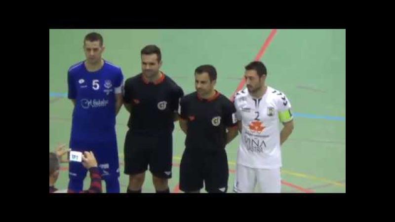 Futsal: J15 2ªDiv LNFS · Manzanares FS - FS Valdepeñas · 1ª Parte