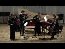 J.S.Bach - concerto for 2 harpsichords (fragments)