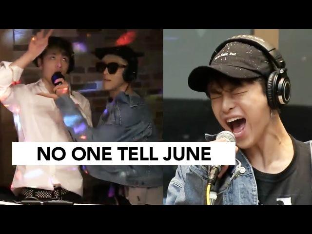 Adlib King Junhoe Member Reactions | iKON