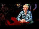 Aaron Carter and Alycia Kaback Talk at VIP Talent Connect - YouTube