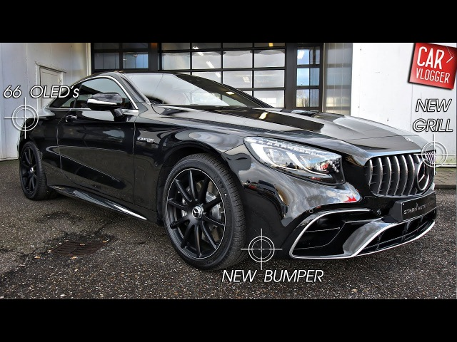 INSIDE the NEW Mercedes-AMG S 63 Coupe 4MATIC 2018   Interior Exterior DETAILS w/ REVS