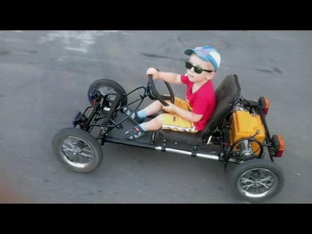 Электромобиль для ребёнка за 7 минут