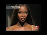Naomi Campbell Versace Menswear Spring 2000