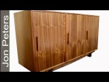 How to Make this Mid Century Modern Inspired Cabinet