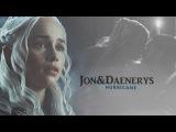 Jon &amp Daenerys Hurricane (+7x07)