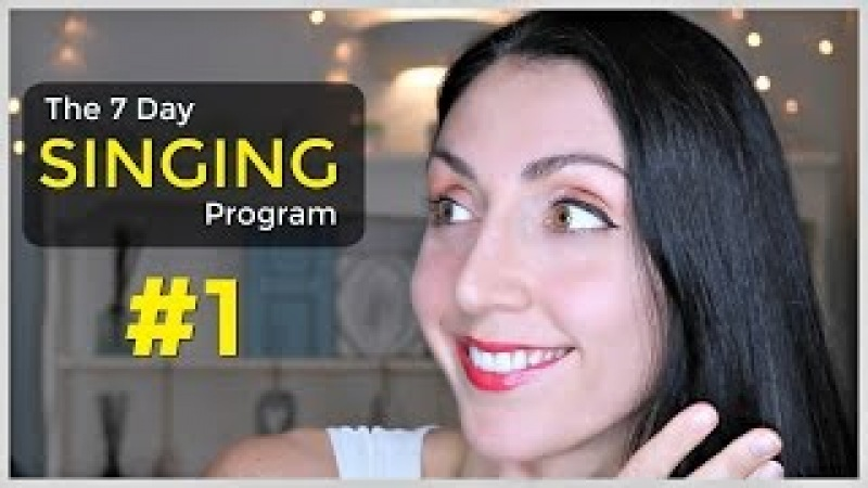 HEAD VOICE Day 1: Weekly SINGING EXERCISE Program