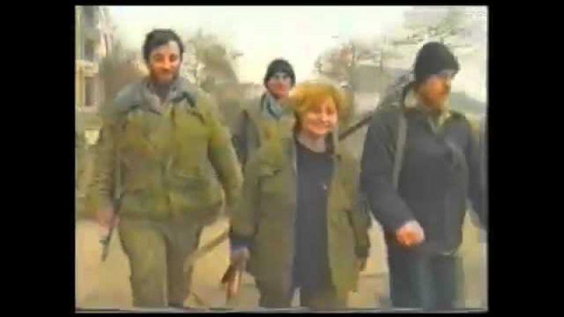 Света, Русская подстилка Чеченских сепаратистов в 1995 году .Грозный.Чечня.