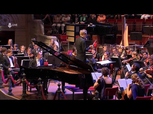 Gershwin Rhapsody in Blue - Opening clarinet solo - 2014 European Union Youth Orchestra, Amsterdam