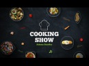 Cooking show package Broadcast Package after effects template