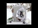 Зимний альбом Зима в стиле Шале Chalet Winter photo album для EcoPaper