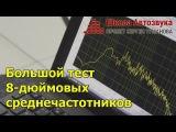 Большой тест 8-дюймовых среднечастотников Alphard, Ural, Machete
