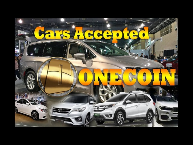 Very nice cars Exhibition with Dealshaker program in Bangkok, OneCoin Event 30 Nov 2017