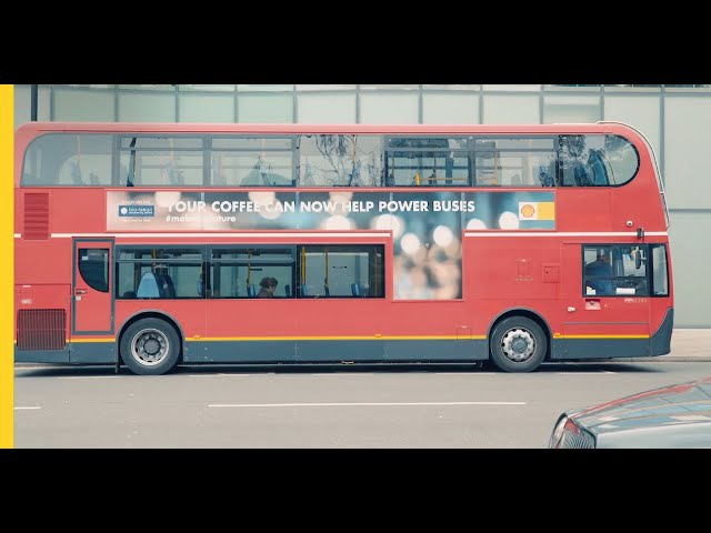 Coffee and a bright idea are helping power buses | Shell makethefuture