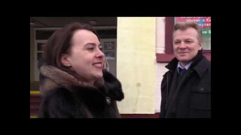 Анна Канопацкая в Слониме: Когда власть говорит, что в бюджете нет денег, она вам нагло врет