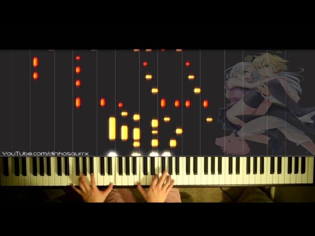「Nanatsu no Taizai」 OP - Netsujou no Spectrum 熱情のスペクトラム (piano solo) Ikimono-gakari