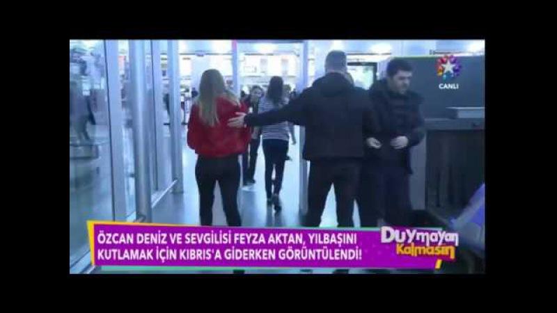 Özcan Deniz ve Sevgilisi Feyza Aktan Yılbaşını Kıbrısta Geçirdi