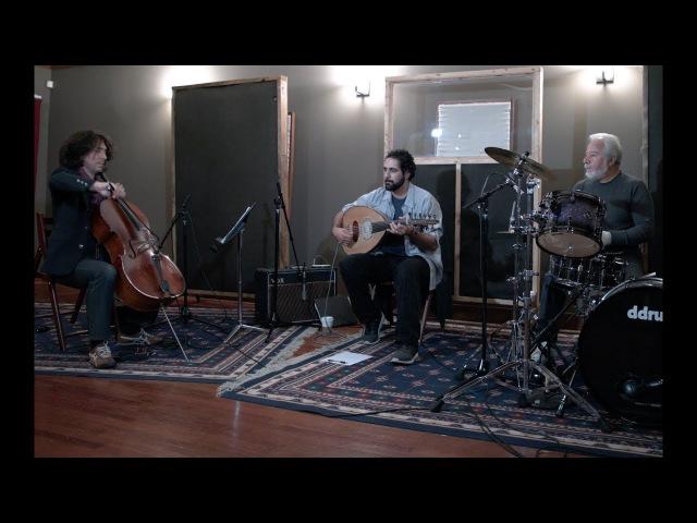 Yehya Khalil, Ian Maksin Ronnie Malley jam session in Chicago (Arabic, Kurdish music, Oud, Cello)