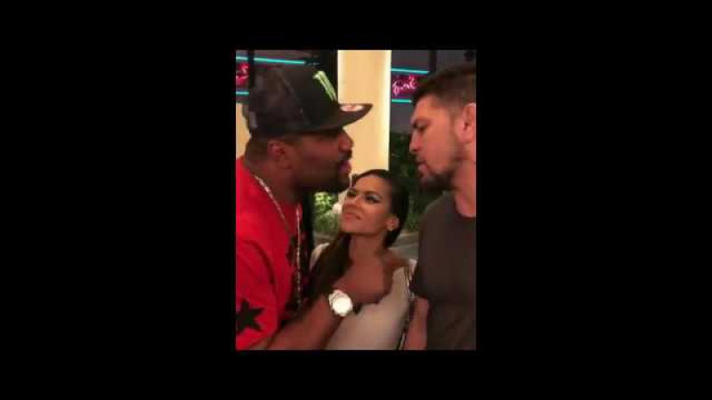Quinton Rampage Jackson Tries to Steal Nick Diazs Girl