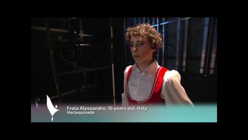 Frola Alessandro 213 Finalist Prix de Lausanne 2017 classical