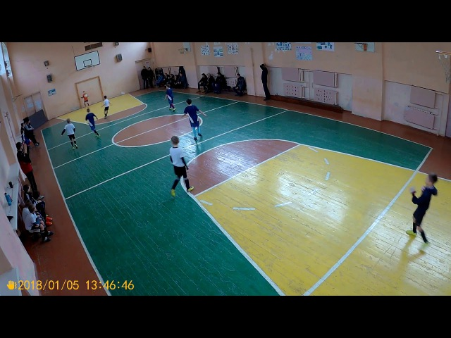 Young Boys-2010 4:7 Аргос-2009 (1 тайм) | 05.01.2018