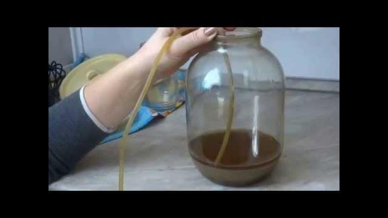 КОНЬЯК ИЗ САМОГОНА-КАК СДЕЛАТЬ.Видео 2-приготовление коньяка.