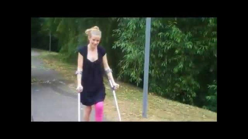 LLC , crutches ...