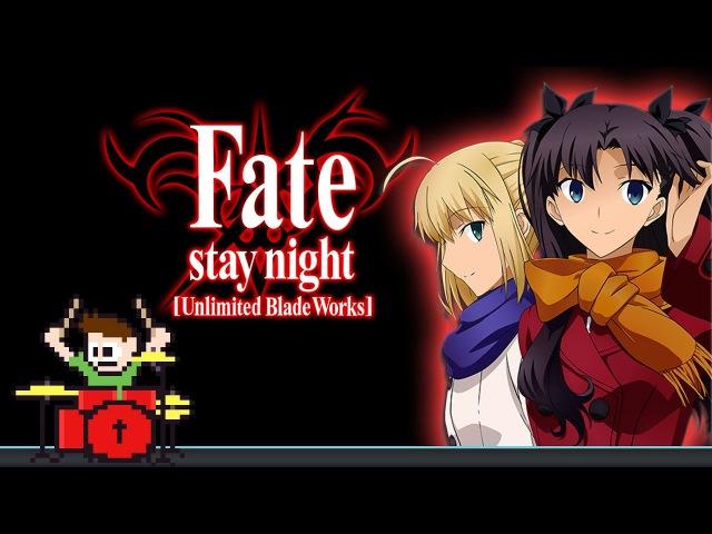Fate Stay/Night UBW OP 2 Full (Blind Drum Cover) -- The8BitDrummer » Freewka.com - Смотреть онлайн в хорощем качестве
