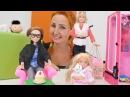 Özge'nin mağazasında yavru kedi! Kız için Barbie oyunları