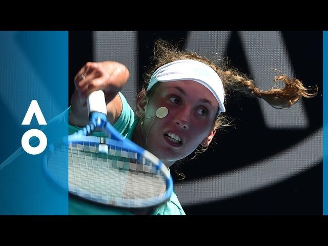 Elise Mertens v Alizé Cornet match highlights (3R) | Australian Open 2018
