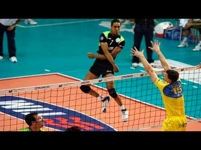 Legend of Volleyball: Leonel Marshall | Monster Jump | SPIKE 383 cm