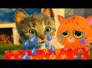 Сборник мультиков про котят ВСЕ СЕРИИ ПОДРЯД котик БУБУ три кота и маленький кот...