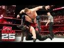 Roman Reigns vs The Miz Intercontinental Championship Match Raw 25 Jan 22 2018