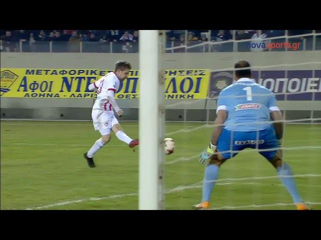 AEL Larissa Vs Olympiakos 0-3 Super League Περίληψη 712018