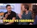 Vegan Slams Dairy Farmers On Live TV