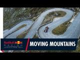 Себастьен Буэми проехал по горному перевалу в Швейцарских Альпах