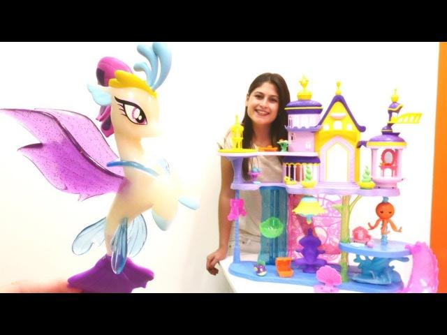 Ayşe'nin oyuncak dükkanı Prenses Celestia'nın denizaltı şatosu Eğlenceli KızOyunları