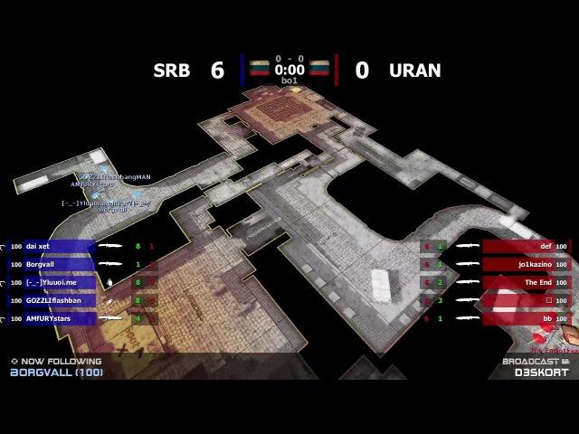 URAN - vs - SRB