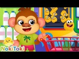 Math kids Number games for toddlers. Funny Food 3. NokiToki