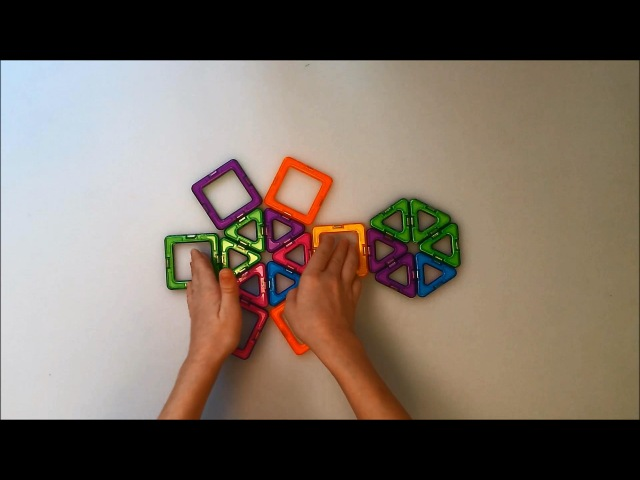 Magformers, магформерс, магнитные игрушки, magnet toys, magic toy, magic shape by Peter Toys