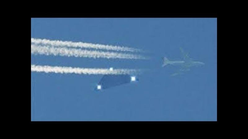 Расшифровка черно го ящика шо к ировала весь мир.НЛО в форме сигары завел самолет в портал времени
