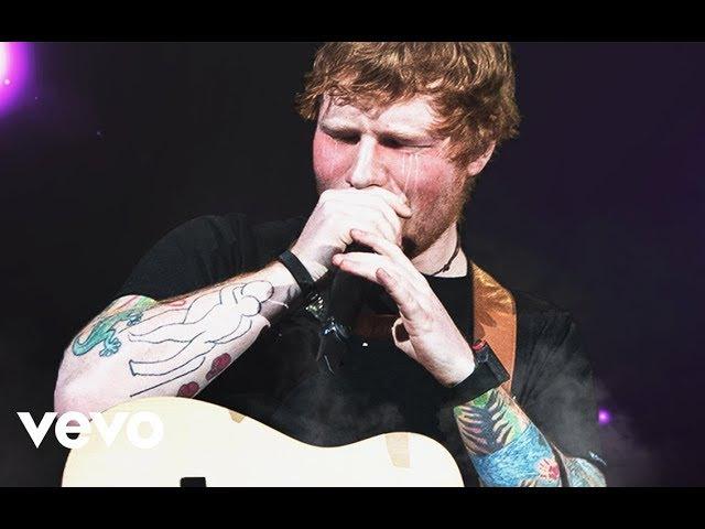 Ed Sheeran - Happier Live Emotional Performance Acoustic (Cologne 2017)