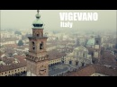 Vigevano Italy Piazza Ducale The Bramante Tower One of the workplaces of Leonardo Da Vinci