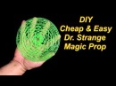 DIY Dr Strange Costume Easy Magic Circle Prop